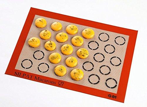 Demarle - Toile de cuisson pour 28 macarons SILPAT Incolo