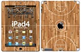 Nexgen Skins IPAD40029 Hardwood Classic 3D - Custodia con skin per Apple iPad 2/3/4, disegno: legno effetto parquet