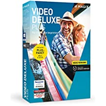 MAGIX Video deluxe 2019 Plus – Das perfekte Videostudio.|Standard|1 Device|1 Year|PC|Disc|Disc