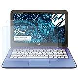 Bruni Schutzfolie für HP Stream 13-c020na Folie - 2 x glasklare Displayschutzfolie