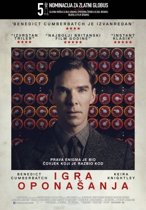 The Imitation Game - Benedict Cumberbatch - Croatian Imported Movie Wall Poster Print - 30CM X 43CM (The Imitation Game Sheet Music)