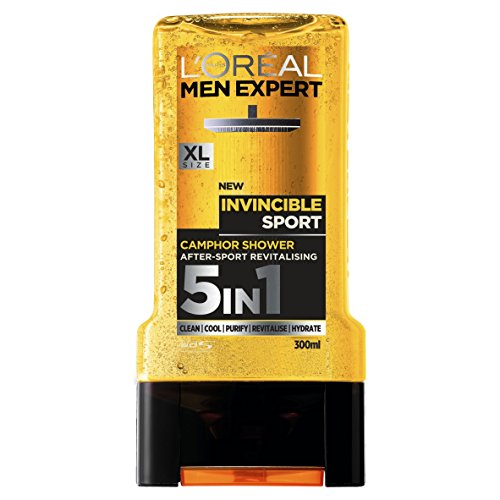 L'Oreal Men Expert Invincible Sport Shower Gel, 300 ml