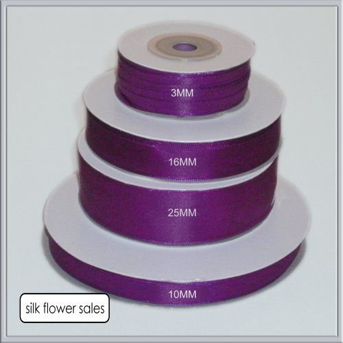 single-roll-of-purple-double-faced-satin-ribbon-3mm-10mm-16mm-25mm-widths-3mm-x-50m