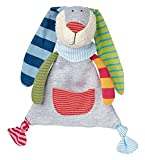 Sigikid 23 x 20 x 8 cm Ringeldingel Bunny Comforter (Multi-Colour) by Sigikid