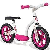 Metall Laufrad Girl mit Flüsterräder, Trittbrett und Stönder, ab 2 Jahren: Mädchen Lernlaufrad Kinderbike Lauflernrad Gleichgewicht