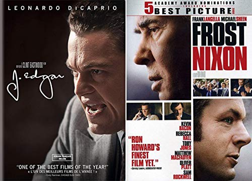 Political Fascination Bundle - Frost/Nixon & J. Edgar 2-DVD Bundle Ron Howard/ Clint Eastwood/ Leonardo DiCaprio