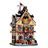 Lemax 65130 - Noahs Ark Toys - Arche Noah Spielzeug - Caddington Village - Witziges & Beleuchtetes LED Porzellan Haus / Weihnachtshaus - Dekoration / Weihnachtsdeko - Weihnachtswelt / Weihnachtsdorf