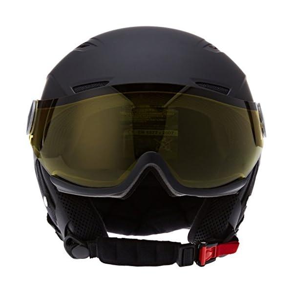 55b5f876dea Bollé 31156 - Casco de esquí Backline Negro Plateado (Soft Black ...