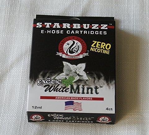 Lot de 8 Cartouches starbuzz Saveur white mint
