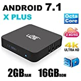 2017 Neues Modell Android 7.1 Smart TV Box U2 C X Plus 2 GB 16 GB Octa Core 3D 4 K H.265 VP9 2,4/5 GHz Dual-Band WiFi Media Player