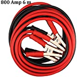 MultiWare Booster Cables Heavy Duty Battery Jump Start Leads Cable 800amp 6m Long Jumpleads Car Van Boost