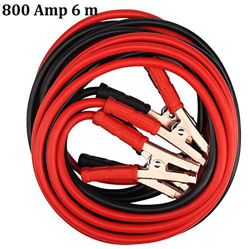 MultiWare 800 Amp 6 m Câbles De Démarrage Pour Batterie Professionnels Heavy Duty Pour Voiture Camion Moto Pinces