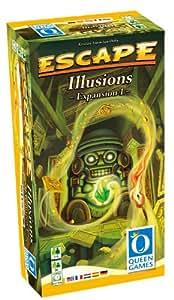 Asmodee - QGES02ML - Jeu de Stratégie - Escape - Illusions Extension 1