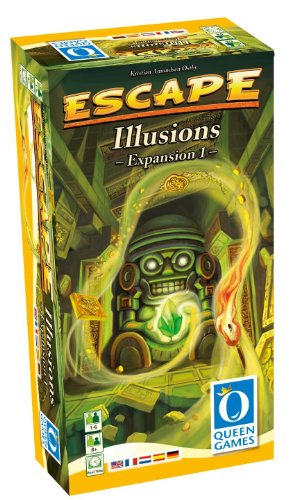 Queen Games 61031 - Escape, espansione 1: Illusions [lingua inglese]