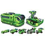 7 in 1 Changeable Solar Equipment Educational Game (Green)