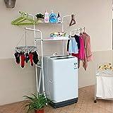 MJY Lagerregal Waschmaschine Rack Commodity Regal Badezimmer Wäscheständer Boden Typ Badezimmer Regale