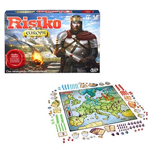 Hasbro Spiele B7409100 – Risiko Europa, Strategiespiel