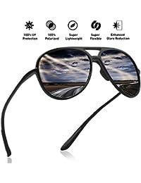 JULI Polarisierte Sport Sonnenbrille Herren Damen Tr90 Unzerbrechlich Rahmen Running Fischerei Baseball MJ8002 zgAZemo0