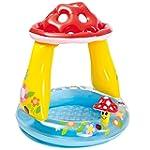 """Mushroom Baby Pool 40""""X X35"""""""