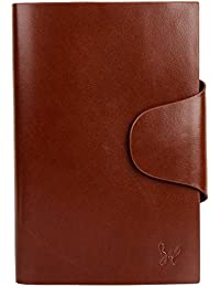 Rohit Bal Dark Brown Leather Organiser for Men