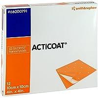 ACTICOAT 10x10 cm antimikrobielle Wundauflage 12 St Kompressen preisvergleich bei billige-tabletten.eu
