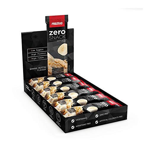 Prozis Zero Snack, 35 g, Muffin alla Banana, Confezione da 12 Pezzi