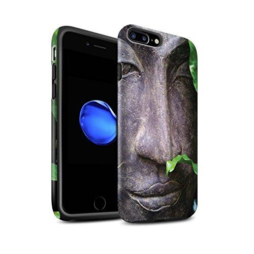 STUFF4 Matte Harten Stoßfest Hülle / Case für Apple iPhone 6+/Plus 5.5 / Zen Statue Muster / Innerer Frieden Kollektion Zen Statue