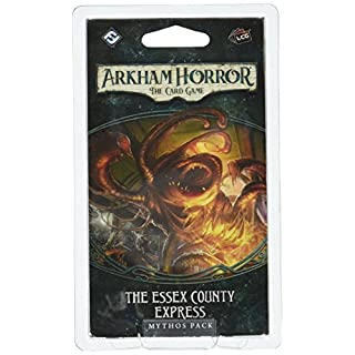 Fantasy Flight Games AHC04 Arkham Horror The Essex County Express Mythos Pack Card Game
