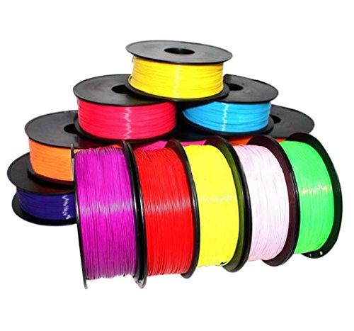 Tonsee Drucken Sie 20 × 1,75 mm, 30 g, Filament-ABS-Modellierung, stereoskopische für 3D-Zeichnung Drucker Stift (3d-modellierung Stift)