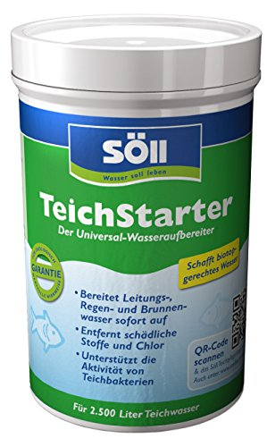 Söll 15241 TeichStarter - Der Universal-Wasseraufbereiter - 250 g