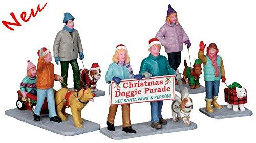 ggi Parade - 5er Set - Polyresin - Figuren & Zubehör für die eigene kleine Weihnachtswelt (Christmas-parade)