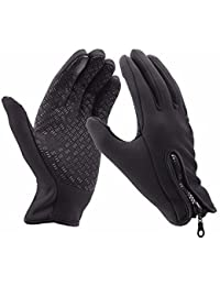 Winter Gloves, Outdoor Ride Drive Gloves Windproof And Waterproof Gloves Touch screen Gloves