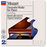 Mozart: Favourite Works for Piano (2 CDs)