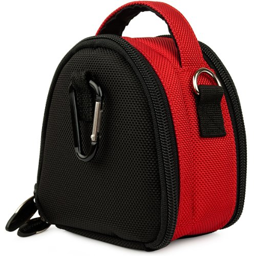 Vangoddy Mini Laurel Handbag Pouch Case For Sony Cyber - Shot Dsc - W830 Digital Camera (AD_CAMLEA046_2013VGML026)  available at amazon for Rs.1531
