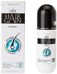 Livon Hair Gain Tonic-Root Energiser/Hair Re Growth/ Controls Hair Fall - UNISEX