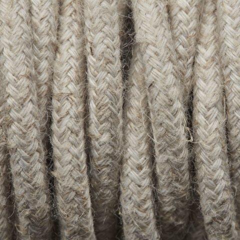 Lin torsadé Tissu Flex – câble à gaine tressée Fil d'éclairage