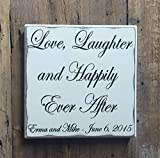 Best Evers regalo de boda - Evan332Eddie Love Laughter and Happily Ever After Review