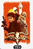Star Wars Exklusives Filmplakat Solo: A Movie - Hauptplakat Poster 61 x 91,5 cm + Ü-Poster