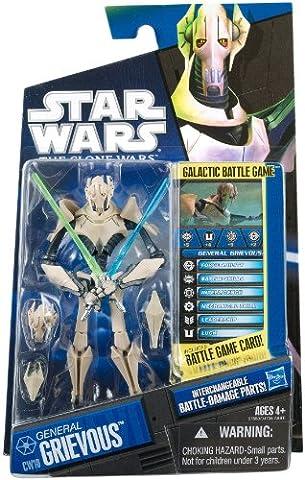 General Grievous with Battle Damaged Parts - Star Wars CW10 - The Clone Wars von Hasbro