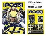 VALENTINO ROSSI CALENDARIO 2020 + VALENTINO ROSSI FRIGORIFERO