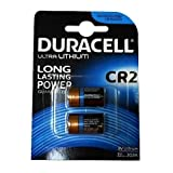 2 x Duracell Ultra Photo DLCR2 3 V Lithium Batterie, 2 Stück
