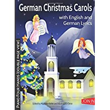 German Christmas Carols: Piano Four Hands (double page view)