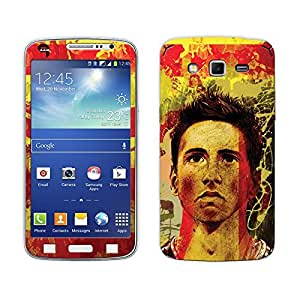 Bluegape Samsung Galaxy Grand 2 G7102 Fernando Torres Football Player Phone Skin Cover, Multicolor