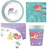 Arielle im weiten Meer - Meerjungfrau Kindergeburtstag Party-Set für 8 Personen