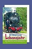 Eisenbahn Geburtstag Karte Grußkarte Volldampf Lokomotive Schaffner 16x11cm
