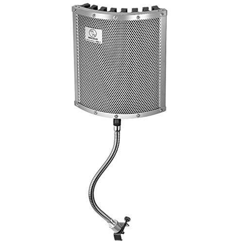 Neewer® Lightweight and Portable Isolation Microphone Shield