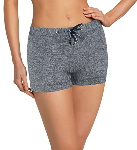 gWinner Maillot de fitness sport Pantalon Short court Candela climaline Gris - Melange
