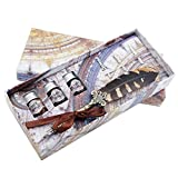 GC Quill Schreibgeräte Set aus Kupfer mit antiker Feder und mehrfacher Tinte