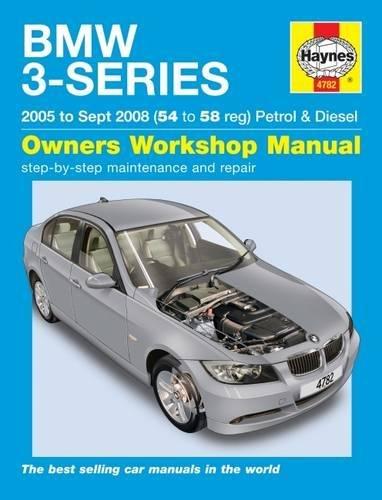 BMW 3-Series Petrol And Diesel por Haynes Publishing