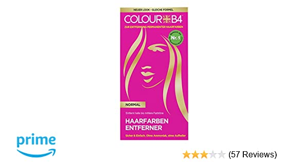 Colour B4 Normal Haarfarben-Entferner, 1er Pack (1 x 180 ml): Amazon ...